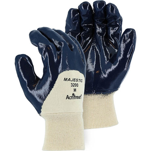 Supported Coated Gloves