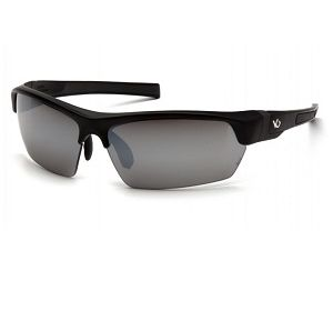 VGSB370T Pyramex Silver Mirror Anti-Fog Lens with Black-Gray Frame