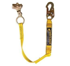 1503 Rope Grab with Attached 3' Shock Absorbing Lanyard