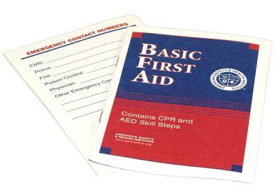 21-009 First Aid Guide (ANSI 2009 Version)