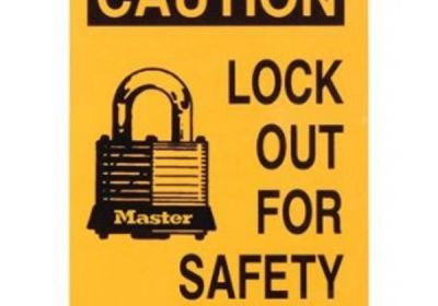 470-469 Lockout Sign