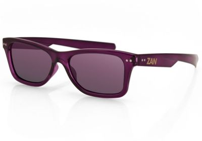 EZTN04 Zan Trendsetter Wine Frame Smoked Purple Mirror