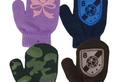 83198 Infant Magic Stretch Mitten with Pattern