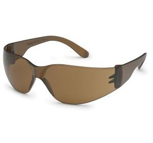 4686 Starlite Mocha Lens with Matching Frame Safety Glasses