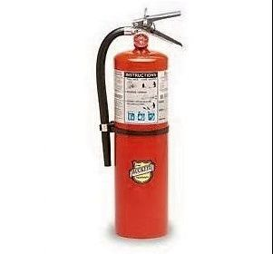 11340 Ten (10) Pound ABC Tall Fire Extinguisher