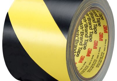 405-021200-43181 Black-Yellow Sticky Tape Non-Reflective