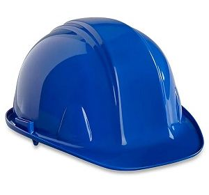 633 Blue Gatway Shell Hard Hat with Ratchet Suspension