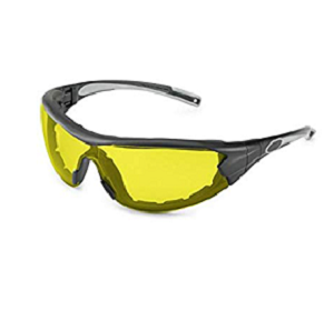 21GB88 Swap Amber Safety Glasses