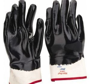7166-10 Nitrile Full Coat Safety Cuff Glove