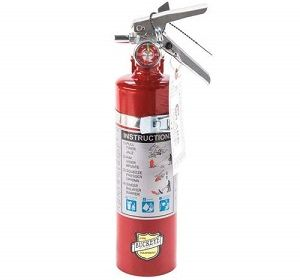 13315 2.5 Pound ABC Fire Extinguisher with Mounting Bracket