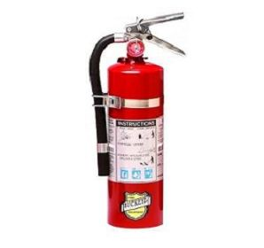 25614 Five (5) Pound ABC Fire Extinguisher with Mounting Bracket