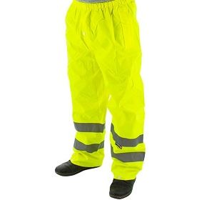 75-2351 High Visibility Waterproof Trousers Class E