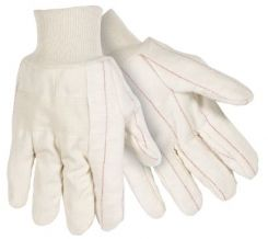 U2433-P Two Ply Cotton Glove with Knuckle Strap