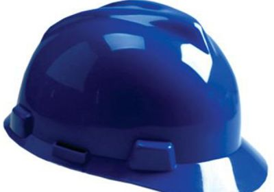 454-475359 MSA Blue V-Gard Hard Hat