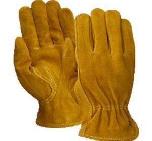 T55190 Pile Lined Suede Cowhide Glove
