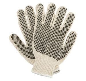 T1139 Reversible Knit with Grip Dots Glove