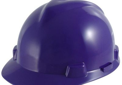 454-488398 MSA Purple V-Gard Hard Hat