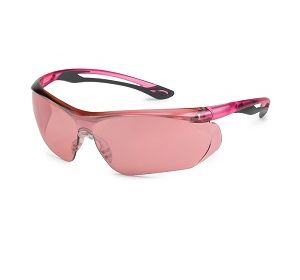 37GY11 Parallax Pink Mirror Lens Safety Glasses