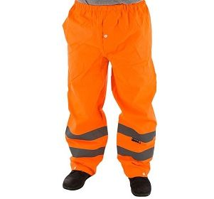 75-2352 High Visibility Waterproof Trousers Class E