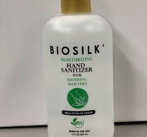 Biosilk Moisturizing Hand Sanitizer 12 Fl Oz BAAVH8012